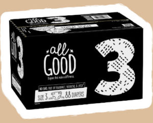 FREE Sample of All Good Diaper