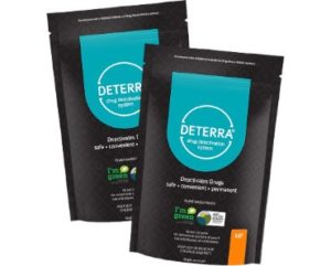 Deterra Drug Deactivation And Disposal Pouche