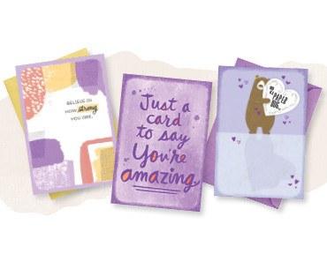 FREE 3-card pack
