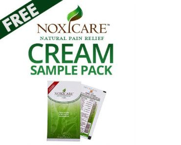 FREE Noxicare Pain Relief Cream Sample Pack