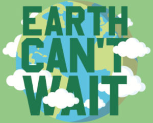 FREE Earth Cant Wait Sticker